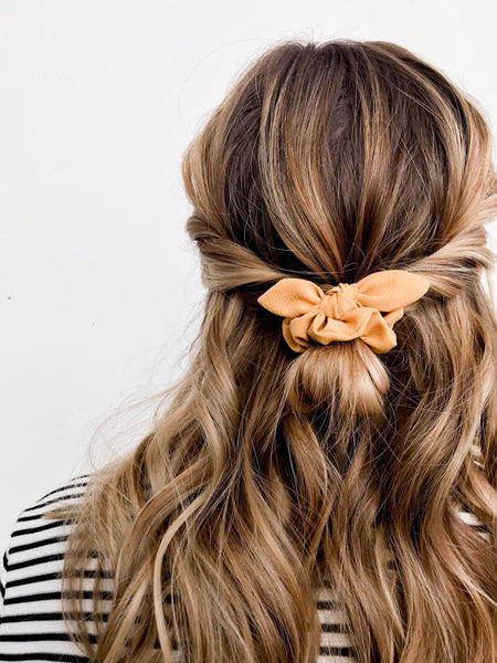 Mini Scrunchie | Goldie