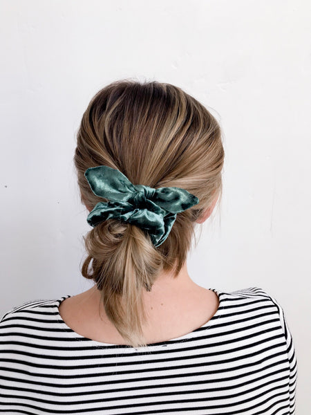Scrunchie | Evergreen Velvet