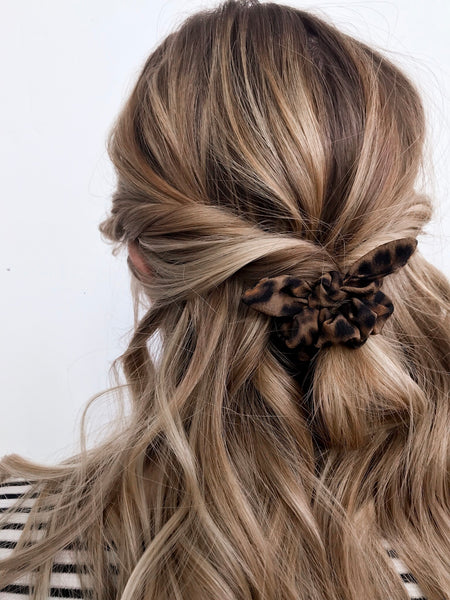 Mini Scrunchie | Leopard