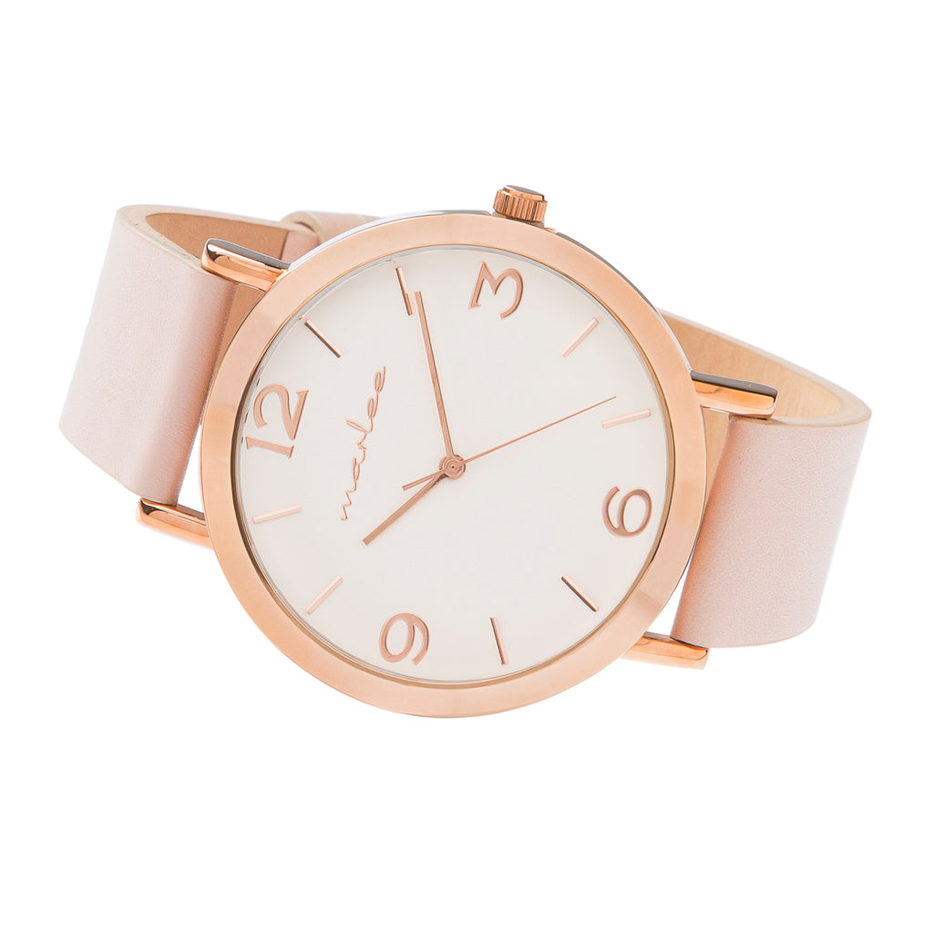 MATCHING BLUSH TIMEPIECES