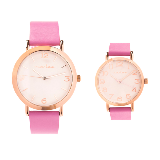 MATCHING WILD ROSE TIMEPIECES