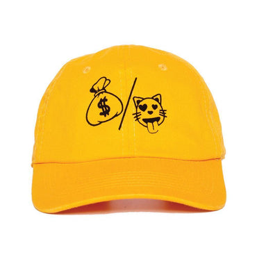 Money over P Dad Hat-Hat-Nerdy Fresh-Quality-Streetwear-California-USA
