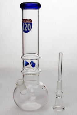 420 Round Base Glass Water Pipe
