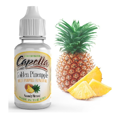GOLDEN PINEAPPLE- CAPELLA-FLAVOURINGS-Infinite Vaper
