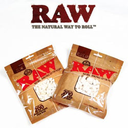 Raw Regular Natural Unrefined Cotton Filter Tips