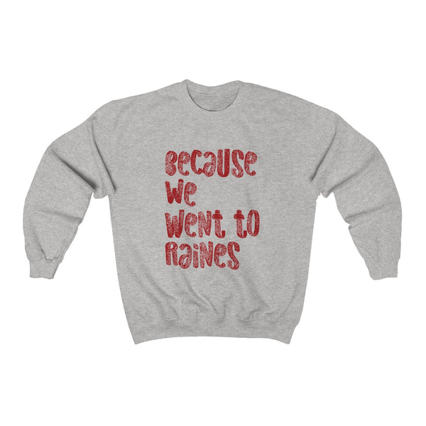 Because We...Unisex Heavy Blend™ Crewneck Sweatshirt