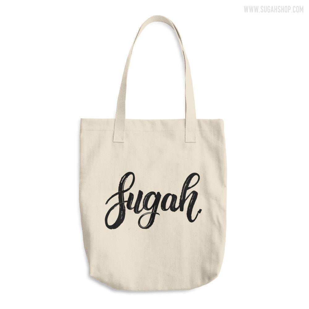 Sugah Cotton Tote Bag