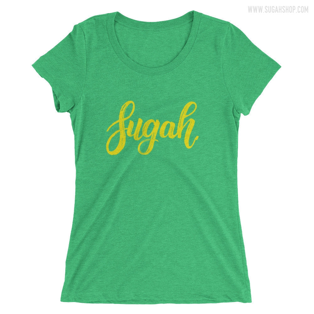 Sugah. Ladies' short sleeve t-shirt