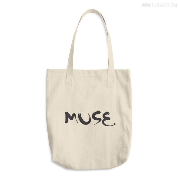 Muse. Cotton Tote Bag