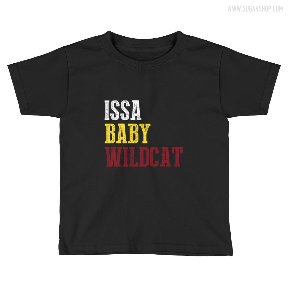 ISSA BABY WILCAT Kids Short Sleeve T-Shirt