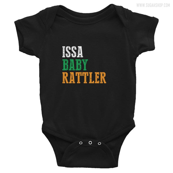 ISSA BABY RATTLER Infant Bodysuit