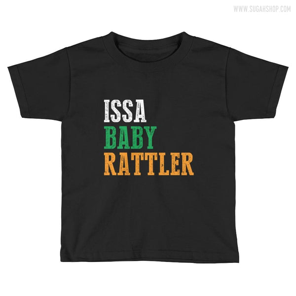 ISSA Baby Rattler Kids Short Sleeve T-Shirt
