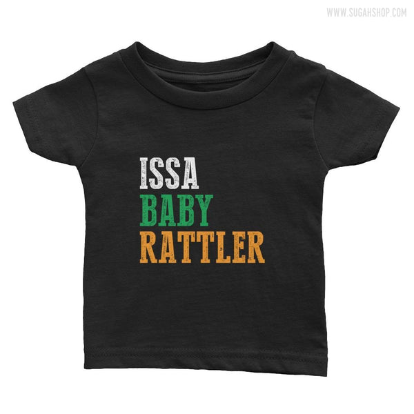 ISSA BABY RATTLER Infant Tee