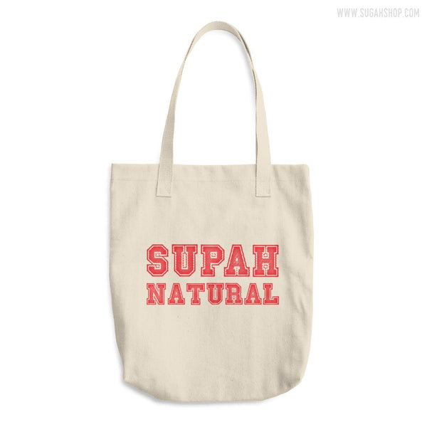 Supah Natural Cotton Tote Bag