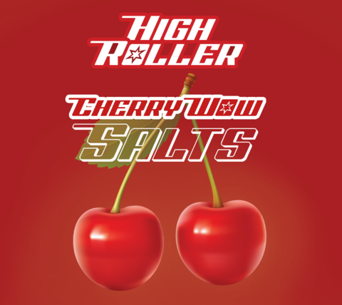 High Roller Nic Salt - Wow Cherry 30ml