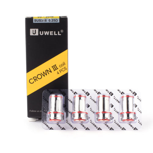 UWELL CROWN 3 REPLACEMENT COIL - 4PK