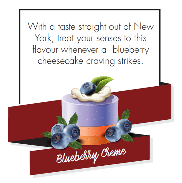 Signature Series Blueberry Creme