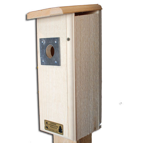 Three Woodpeckers Bird House