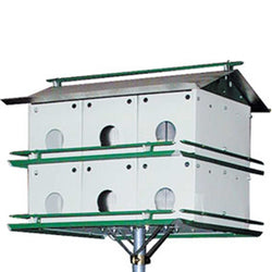 Aluminum Purple Martin House With 12 Rooms