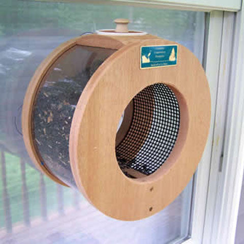 Port Hole Bird Feeder