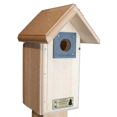 Backyard Bird House Angle
