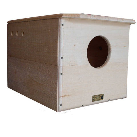 Barn Owl House And Nest Box Left Side