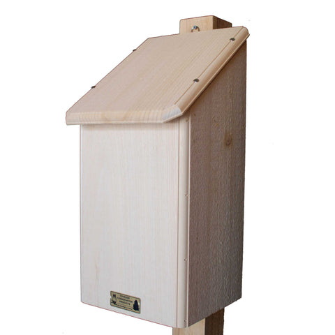 Bat House With Five Chamber Box Angle