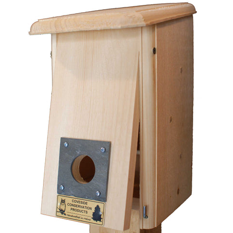 Bird Roost Box Slightly Open