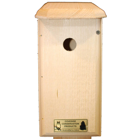 Chickadee Bird House Front