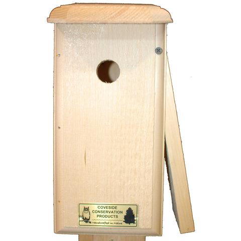 Chickadee Bird House Open