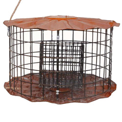 Double Suet Feeder Copper Tint