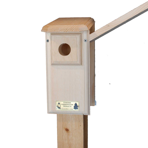 Eastern Bluebird House Side Open