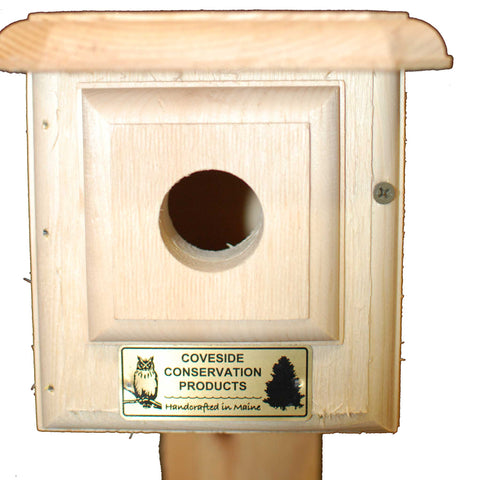 Horizontal Bluebird House Front