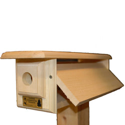 Horizontal Bluebird House Side