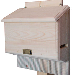 Large Bat House Two Chamber Box And Landing Platform