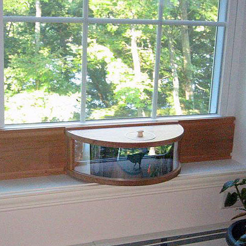 Panoramic In-House Window Bird Feeder