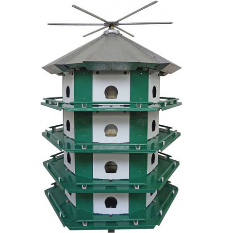 Purple Martin House With 24 Compartments
