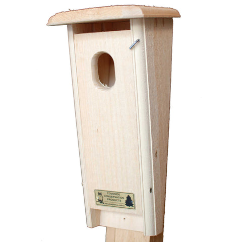 Slant Front Bluebird House Front