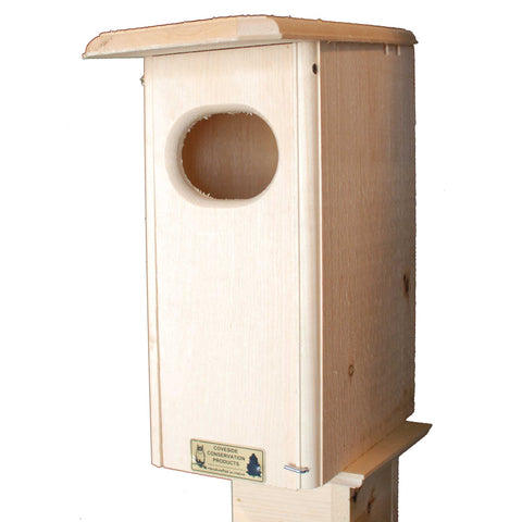 Small Wood Duck House Front