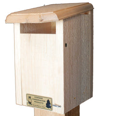 Image of Sparrow Resistant Bluebird House Nest Box