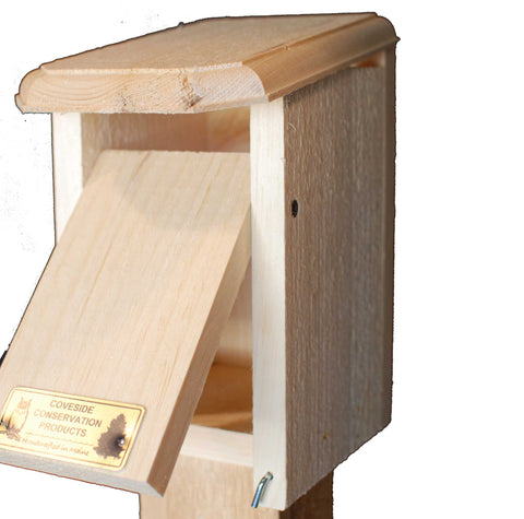 Sparrow Resistant Bluebird House Fully Open