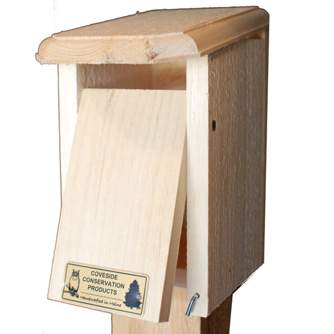 Sparrow Resistant Bluebird House Partially Open