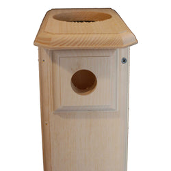 Sparrow Resistant Open-Top Bluebird House Nest Box