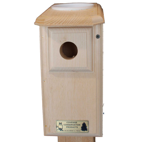 Sparrow Resistant Open-Top Bluebird House