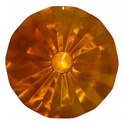 Squirrel Baffle  - Hanging Disk (Copper-Tint)