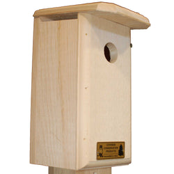 Titmouse Bird House & Nest Box