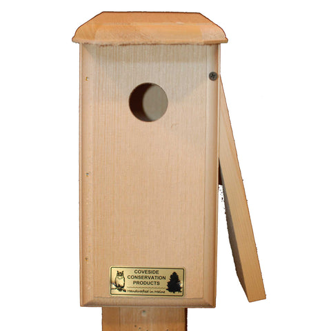 Titmouse Bird House Open