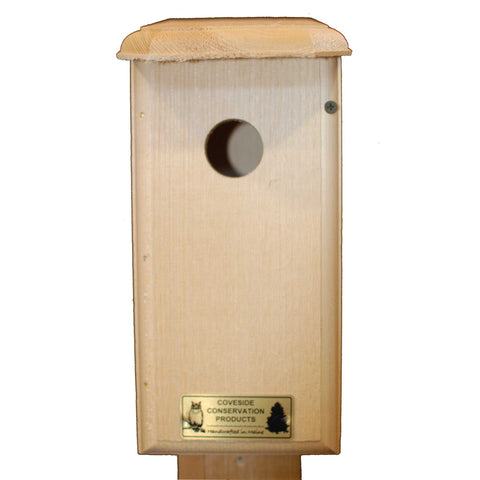 Titmouse Bird House Front