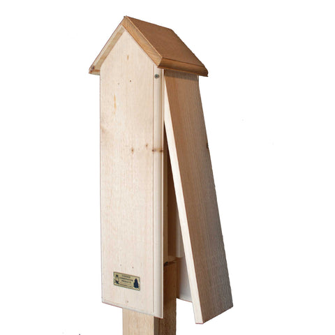 Tower Bat House With Side Open