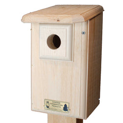 Western And Mountain Bluebird House Front